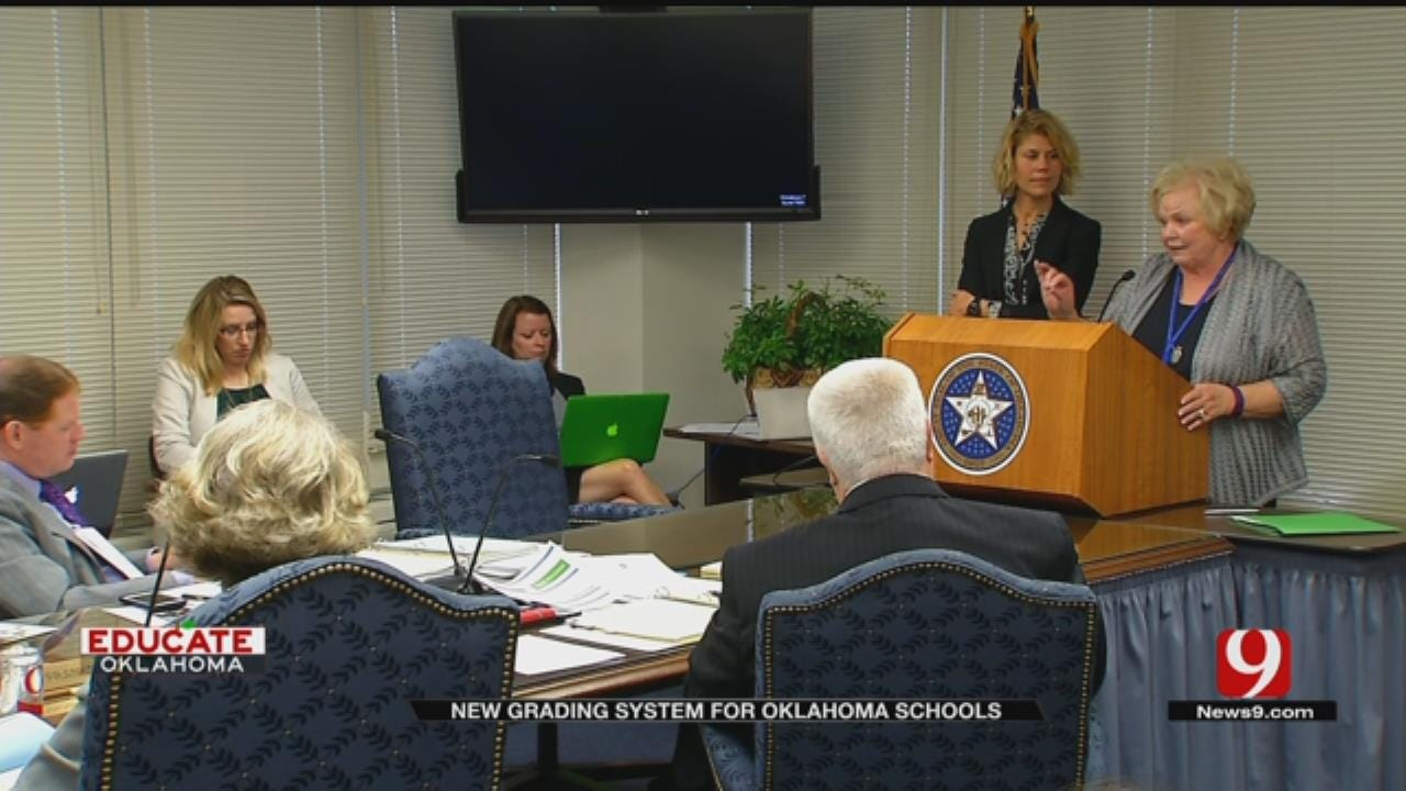 OK State School Board Says A-F Report Cards Will Change