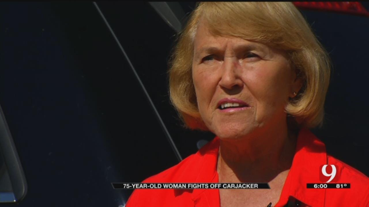 Metro Grandmother Fights Off Carjacker