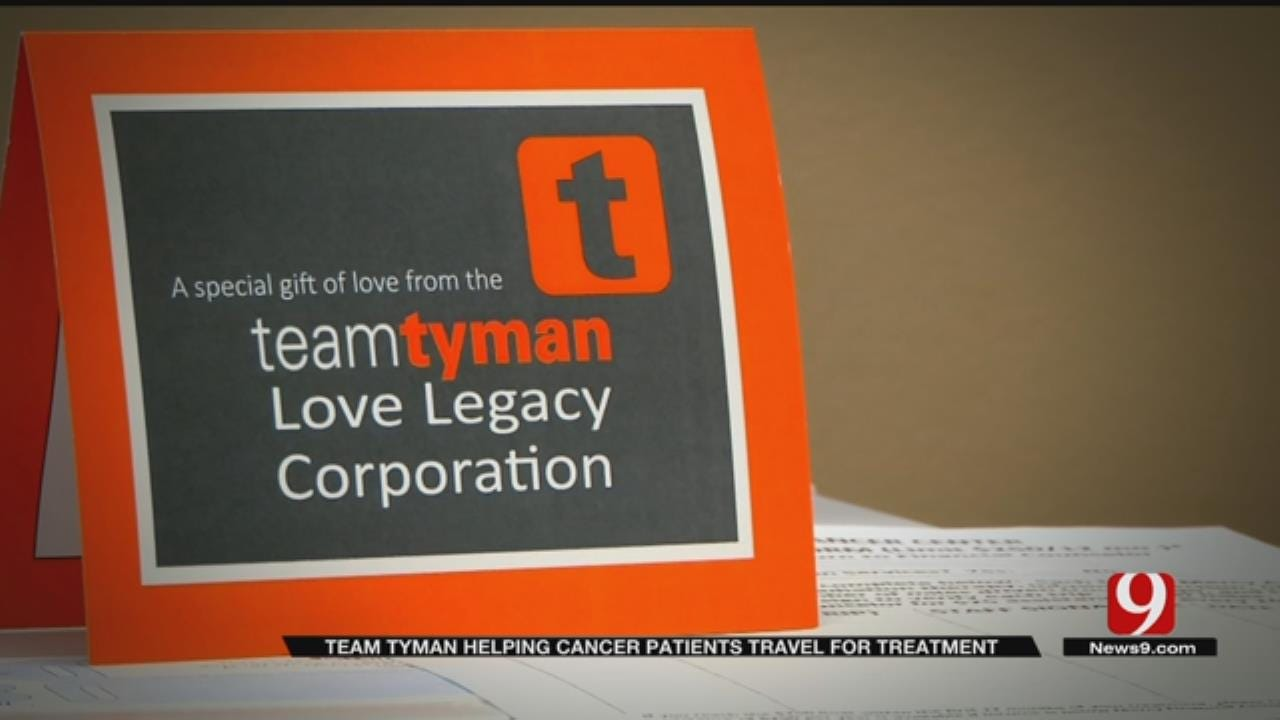 'Team Tyman' Helping Rural Cancer Patients Travel For Treatment
