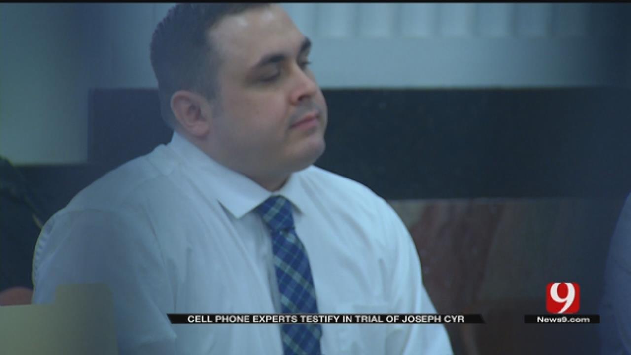 Cellphone Experts Testify In Trial Against Joseph Cyr