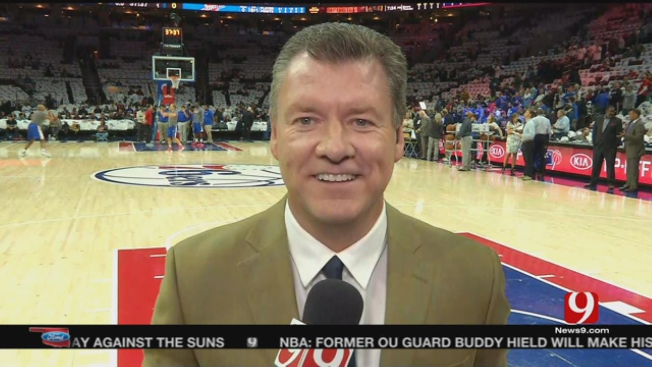 Steve Checks In From Philly Before The First Thunder Game