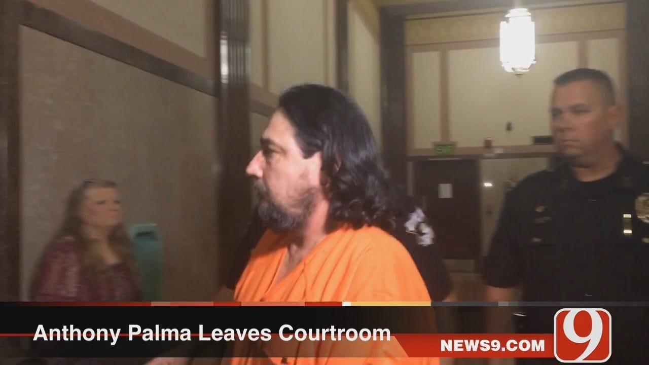 WEB EXTRA: Anthony Palma Leaves Courtroom, Heads Back To Jail