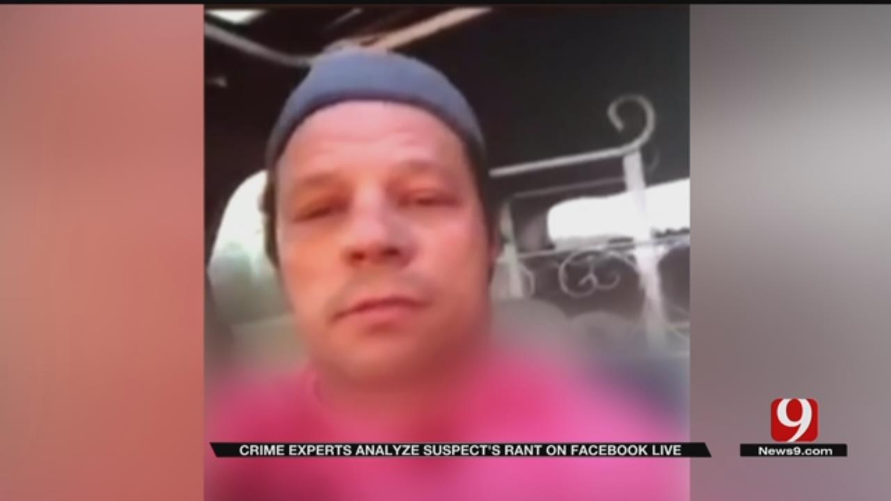 Crime Experts Analyze Double Homicide Suspect's Rant On Facebook Live