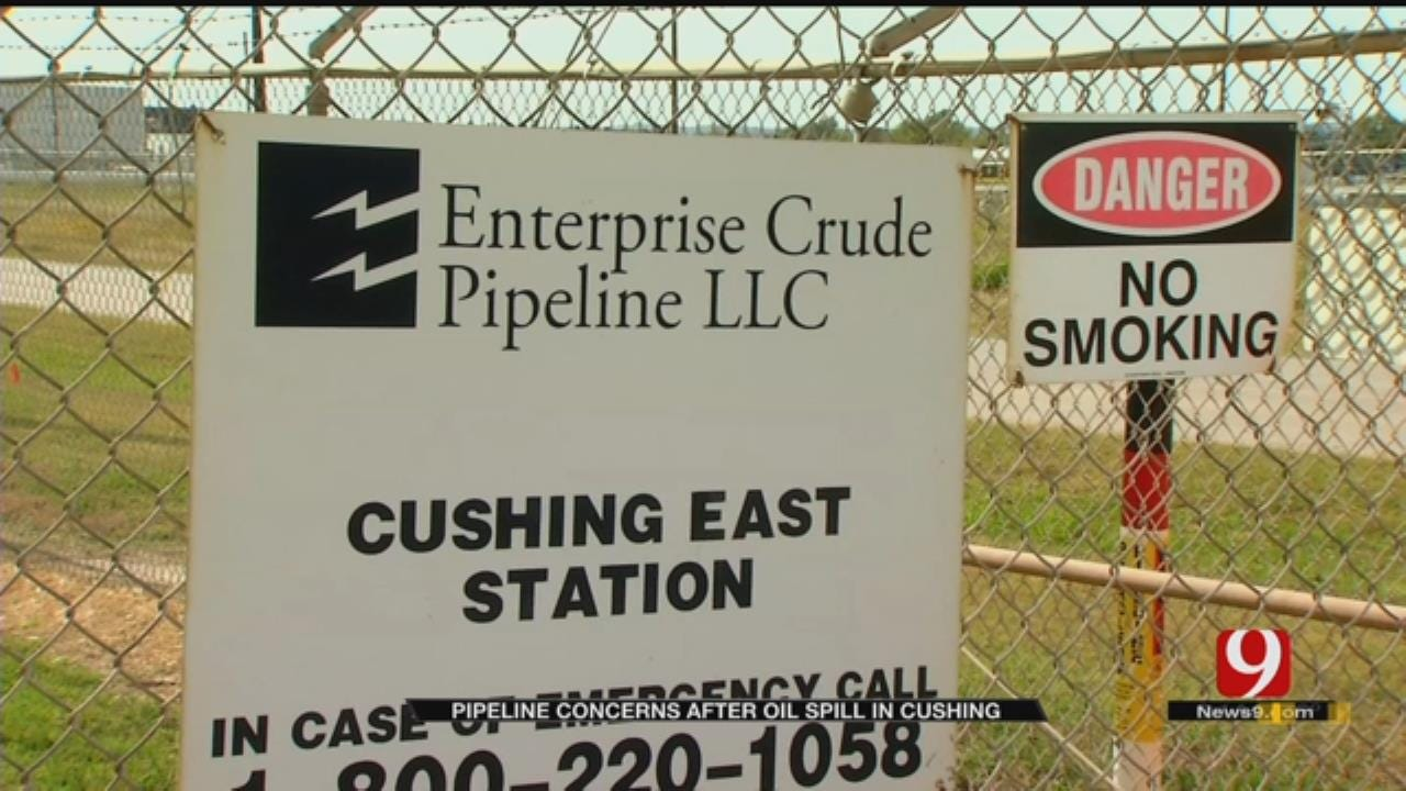 Spill Stokes Fears At Cushing Oil Hub