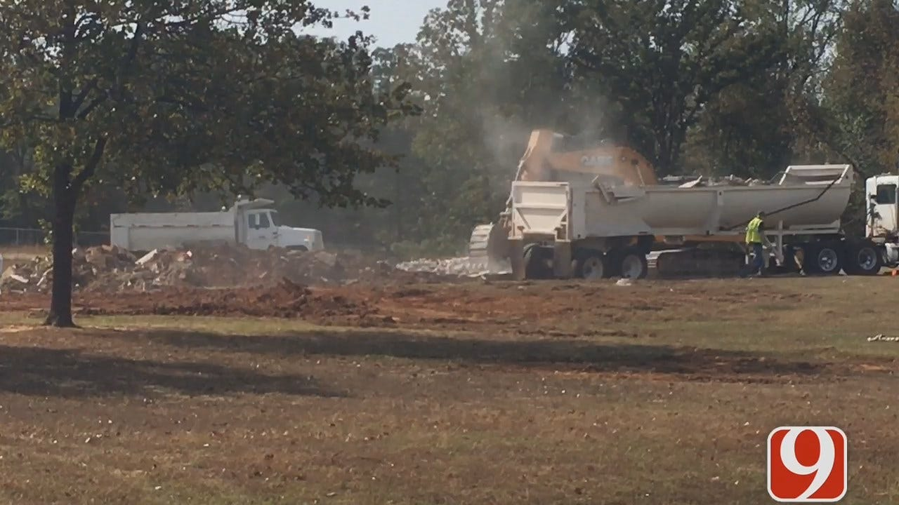 WEB EXTRA: Crews Begin Tearing Down Homes For Turnpike Construction
