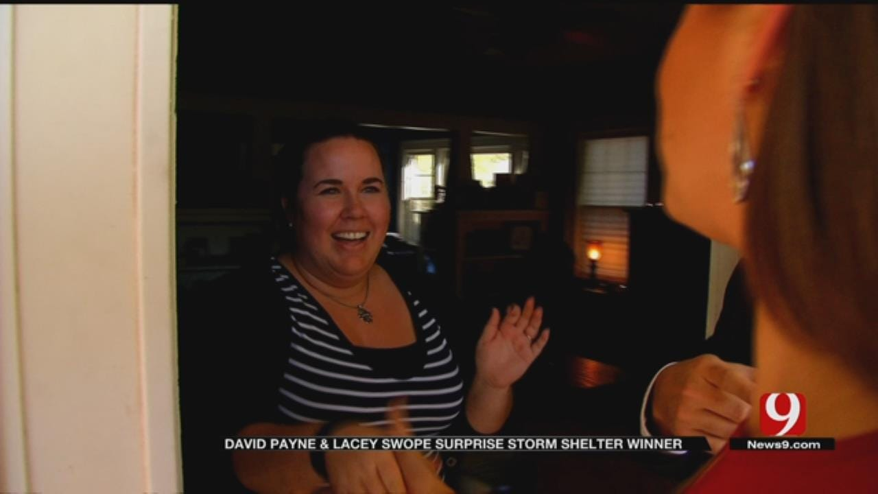OKC Couple Wins Final Shelter From News 9 And FlatSafe Tornado Shelters