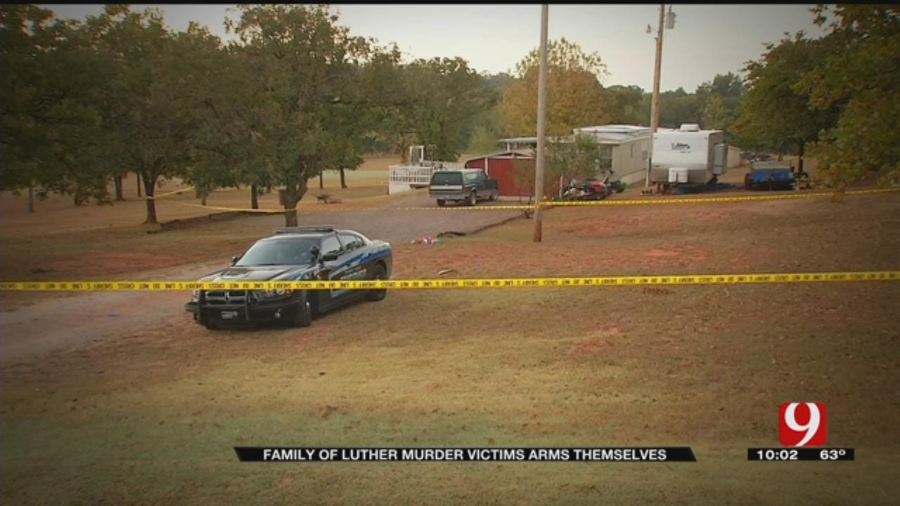 Family Members Of Slain Luther Couple Arm Themselves