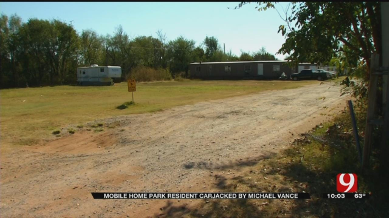 Mobile Home Resident Carjacked By Manhunt Suspect