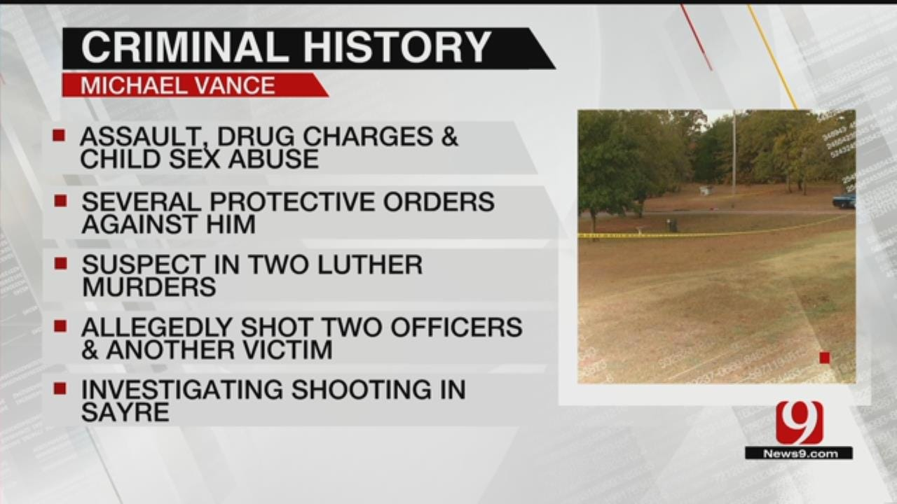 OSBI Seeing If Sayre Shooting Is Connected To Michael Vance