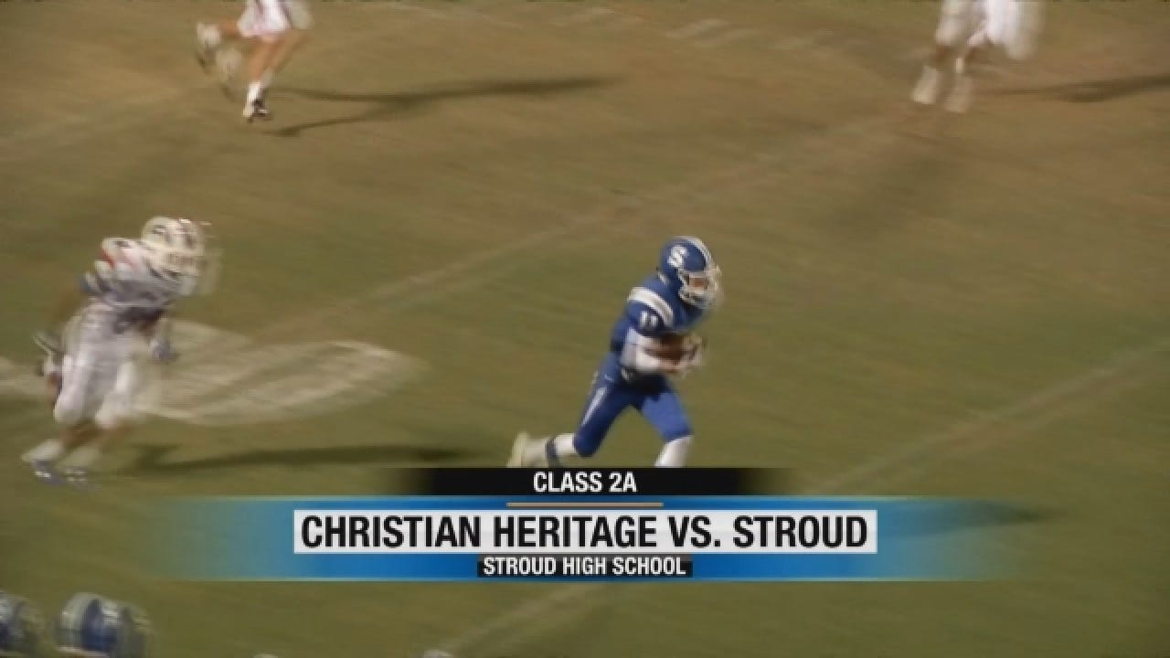 Stroud Picks Up 31-21 Win Over Christian Heritage
