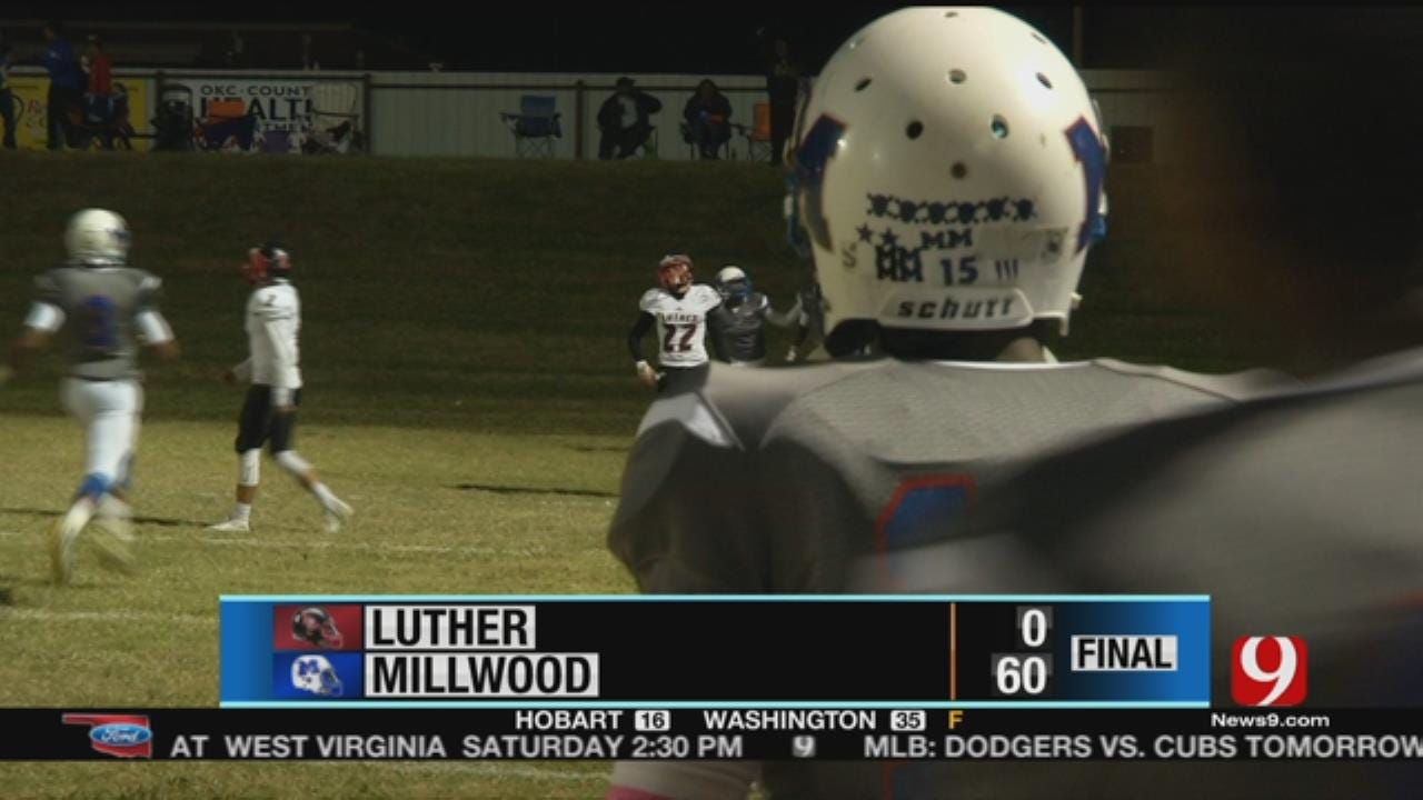 Millwood Shuts Out Luther For 60-0 Win