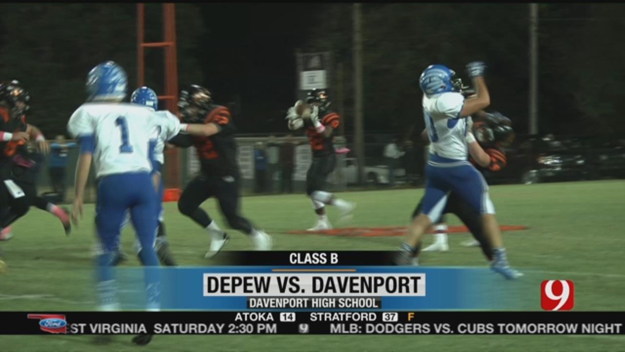 Davenport Pulls Away From Depew