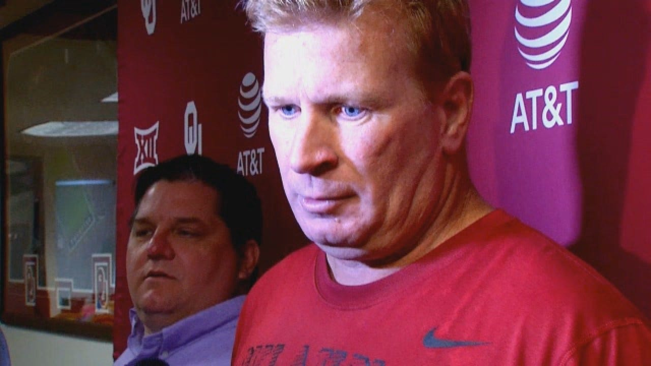 Mike Stoops Previews OU's Matchup With Texas Tech