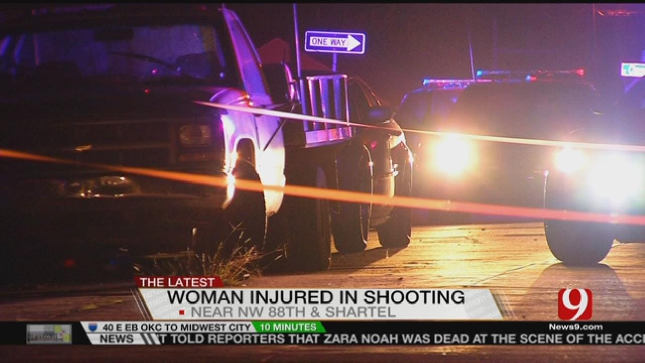 Woman In Serious Condition After Shooting In NW OKC