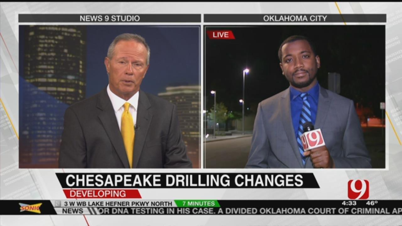 Chesapeake Talks New Drilling Tactics