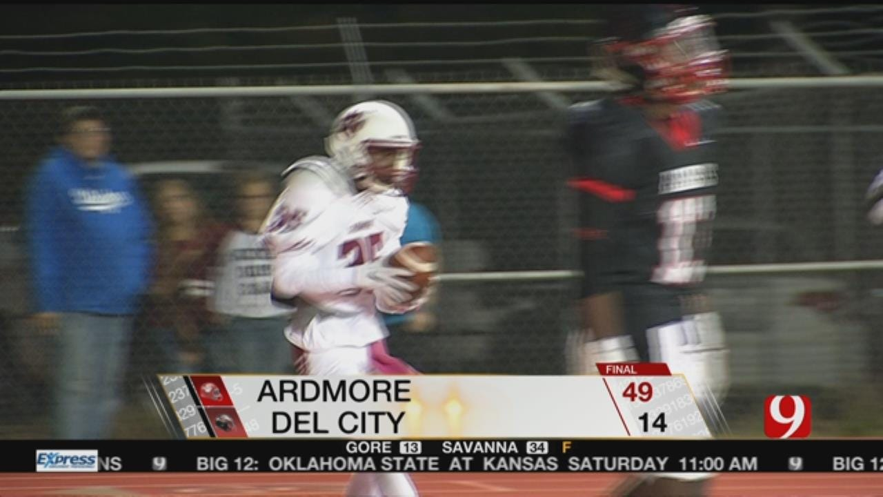 Ardmore Beats Del City, 49-14