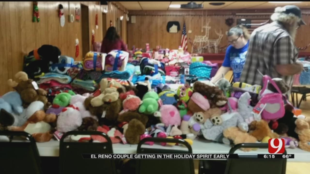 Couple To Hold Fundraiser At El Reno VFW For Christmas Donations