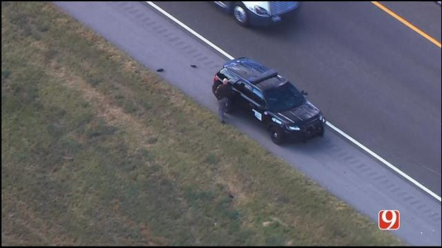 WEB EXTRA: OHP Trooper Injured In Crash On EB I-44