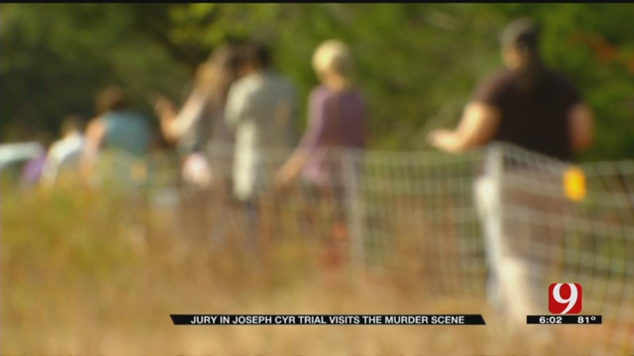 Jury In Joseph Cyr Trial Visits Murder Scene