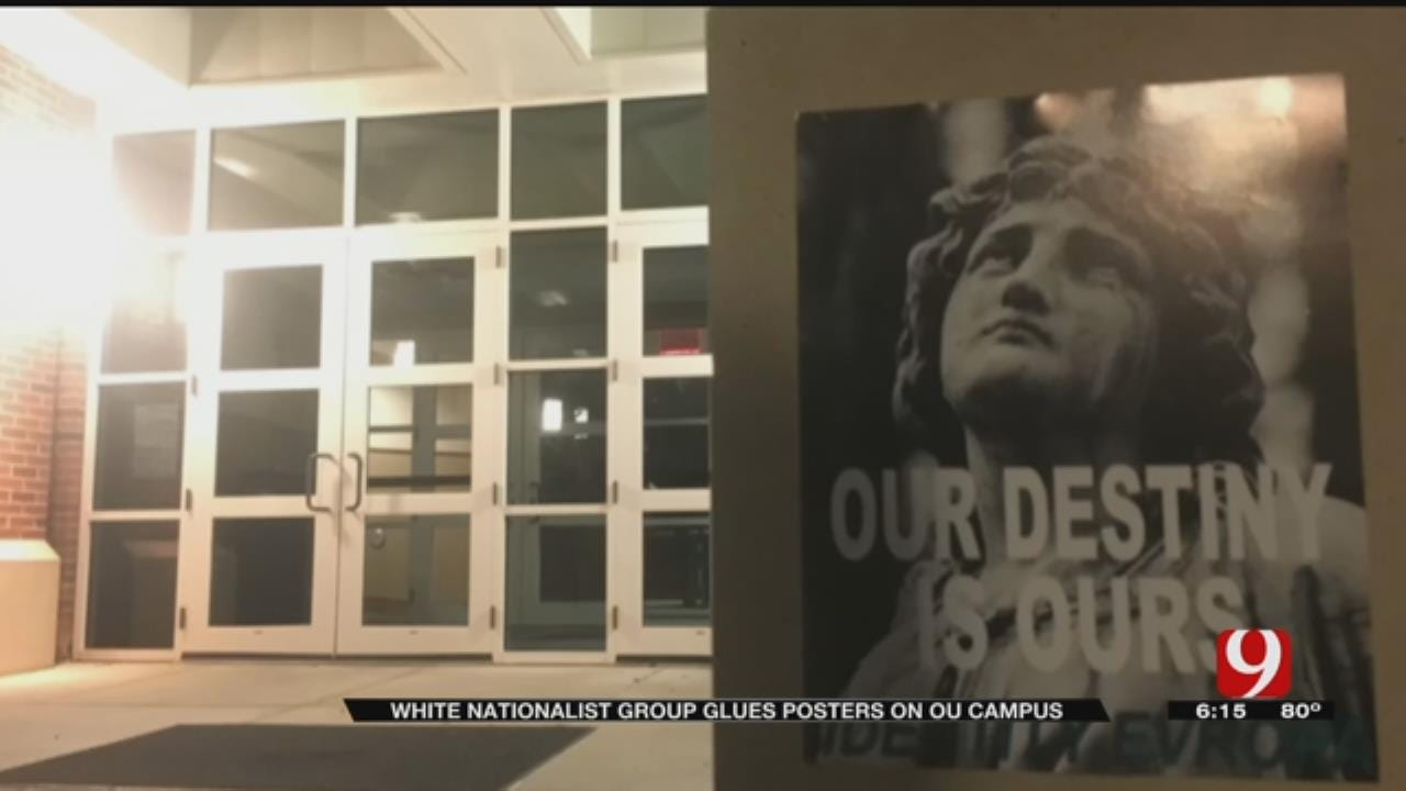White Nationalist Posters Raise Ire At OU