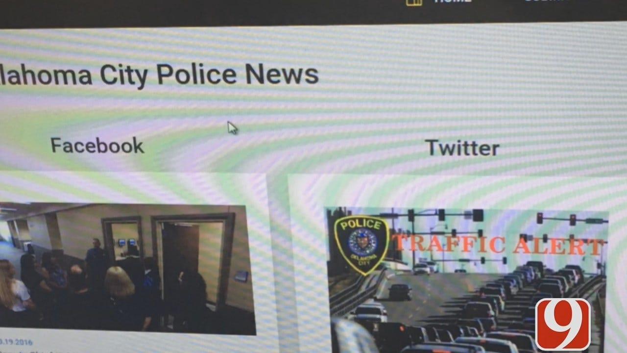 WEB EXTRA: Adrianna Iwasinski Reports On OKC Police's New Crime Stoppers Website