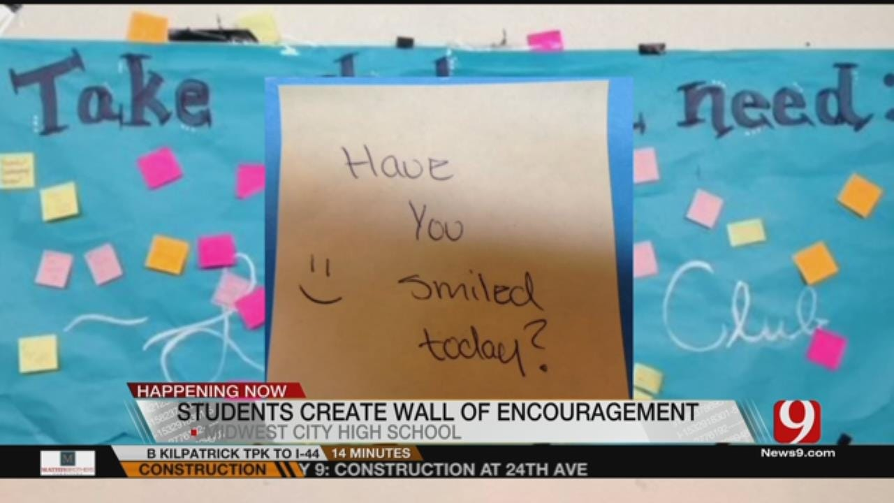 Midwest City Students Fight Bullying With Encouragement