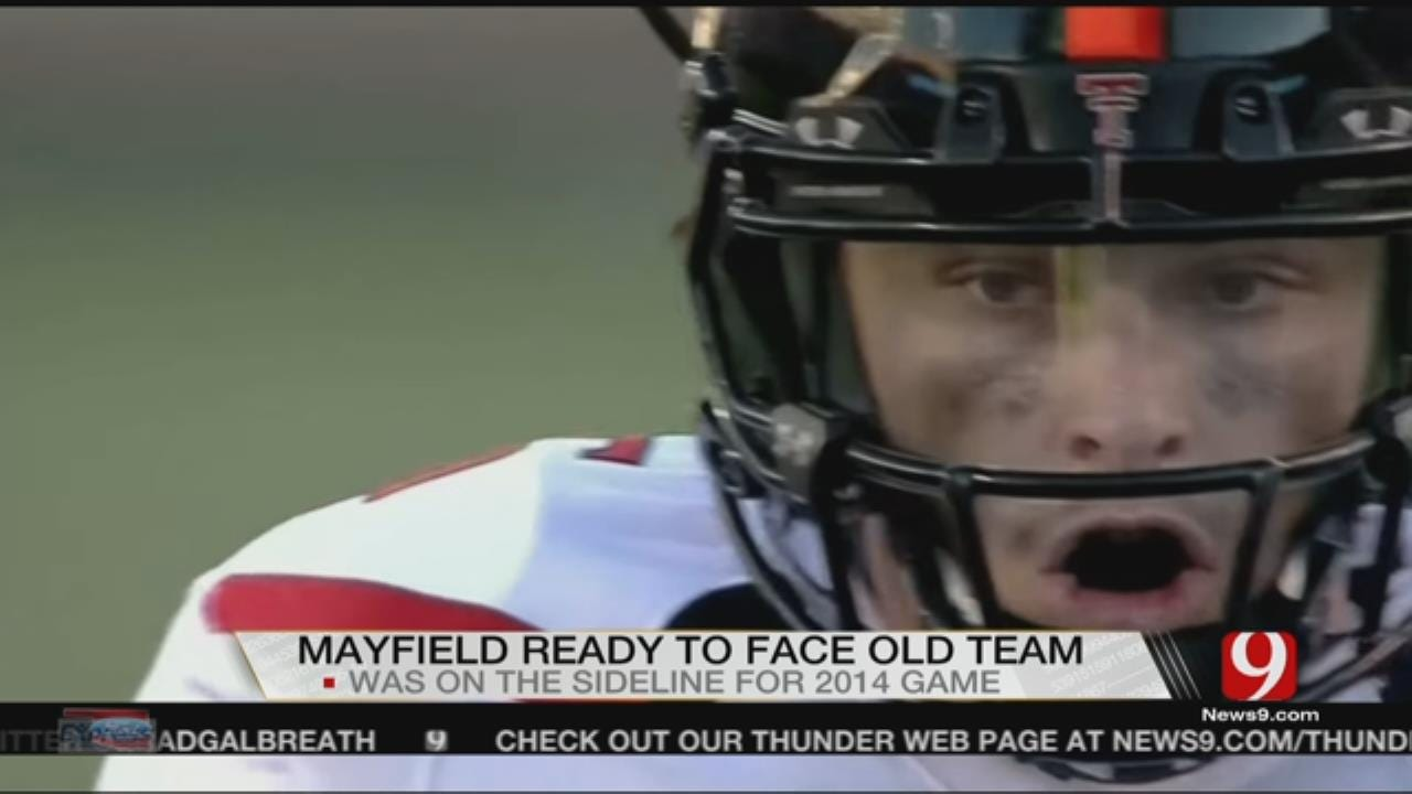 Mayfield Ready To Face Old Team