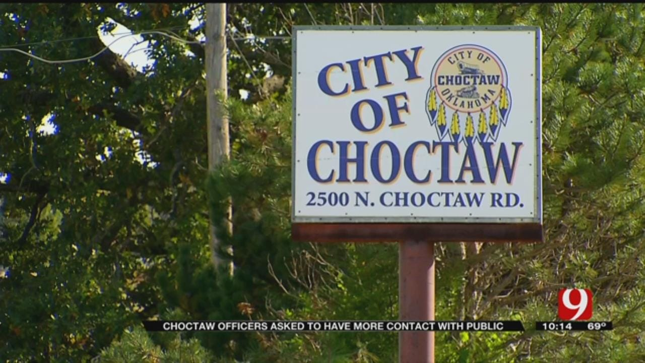 Choctaw Police Asked To Make More Contact With Public During Shifts