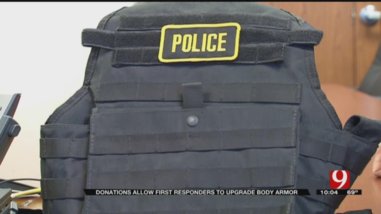 New Body Armor Protects Yukon PD Against Rifle Rounds