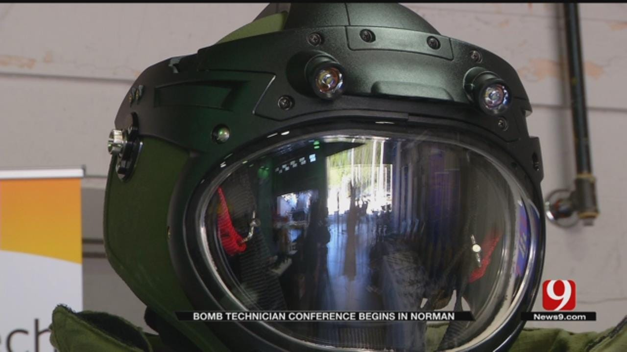 Bomb Technicians Travel To Norman For Training