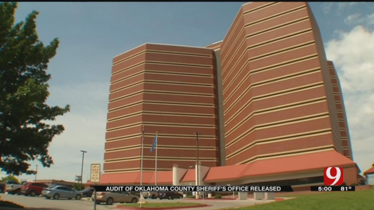 Results From Audit On Oklahoma County Sheriff's Office Released