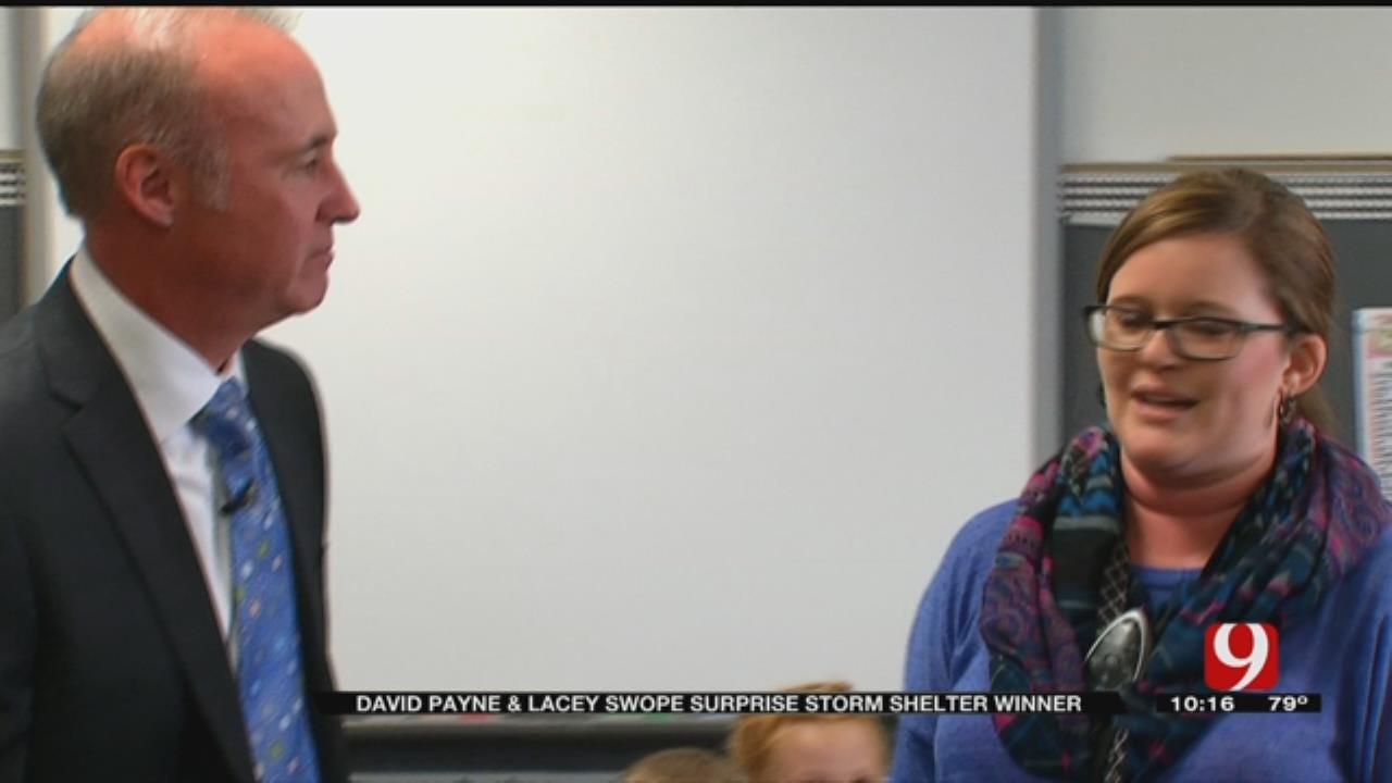 Shawnee Police Officer Wins FlatSafe Tornado Shelter