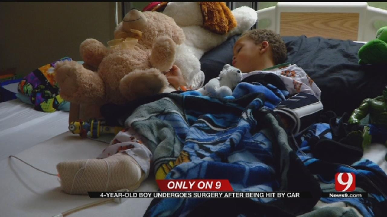 4-Year-Old Boy Undergoes Surgery After Being Hit By Vehicle