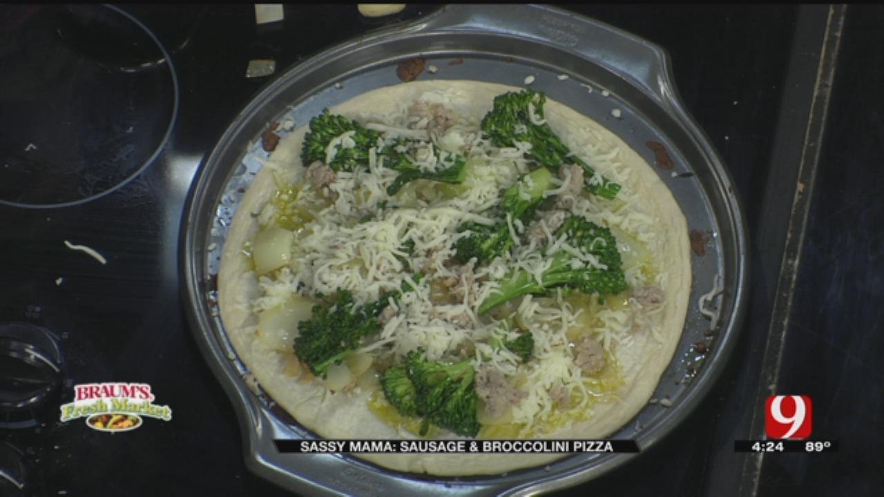 Sausage & Broccolini Pizza