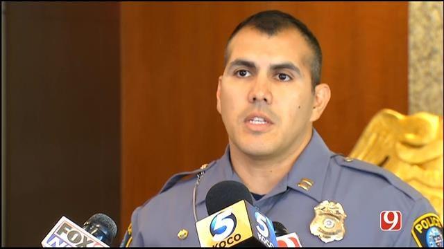 WEB EXTRA: OKC Police Hold News Conference Regarding Officer's Arrest