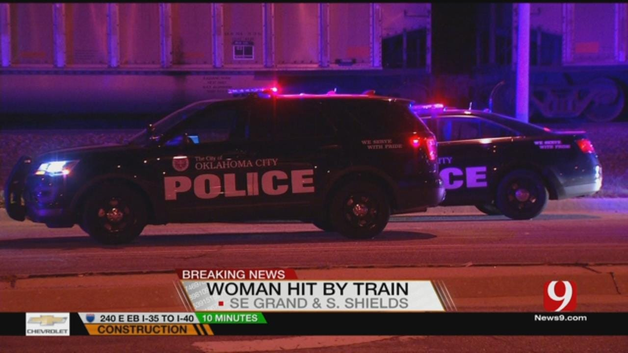 Woman In Hospital After Train Accident In SE OKC