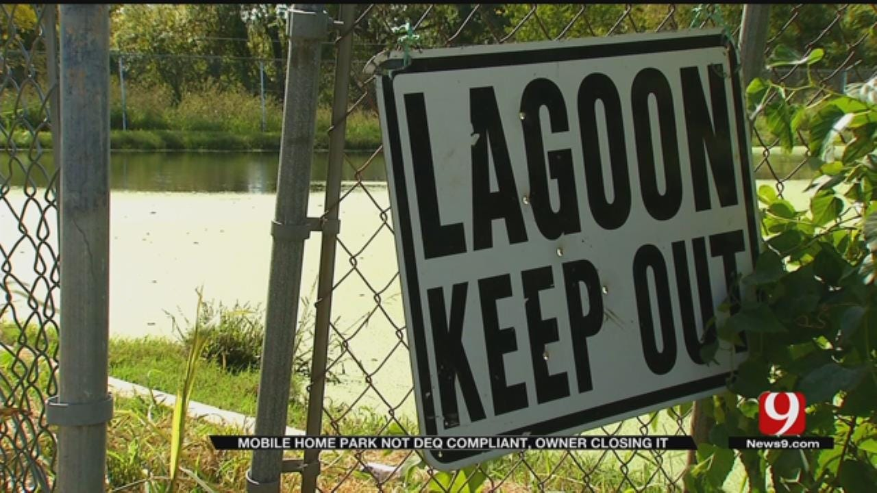 Shawnee Mobile Home Residents Told Move After DEQ Violations