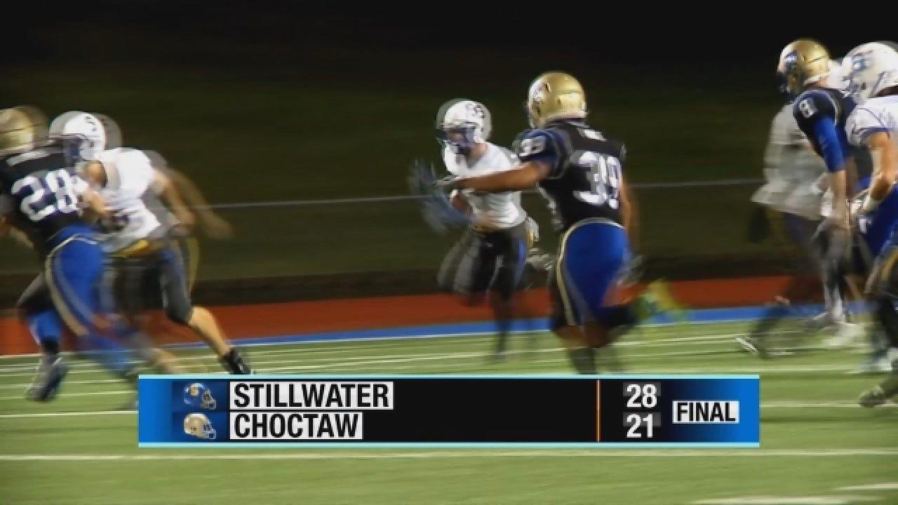 Stillwater Holds On To Beat Choctaw 28-21