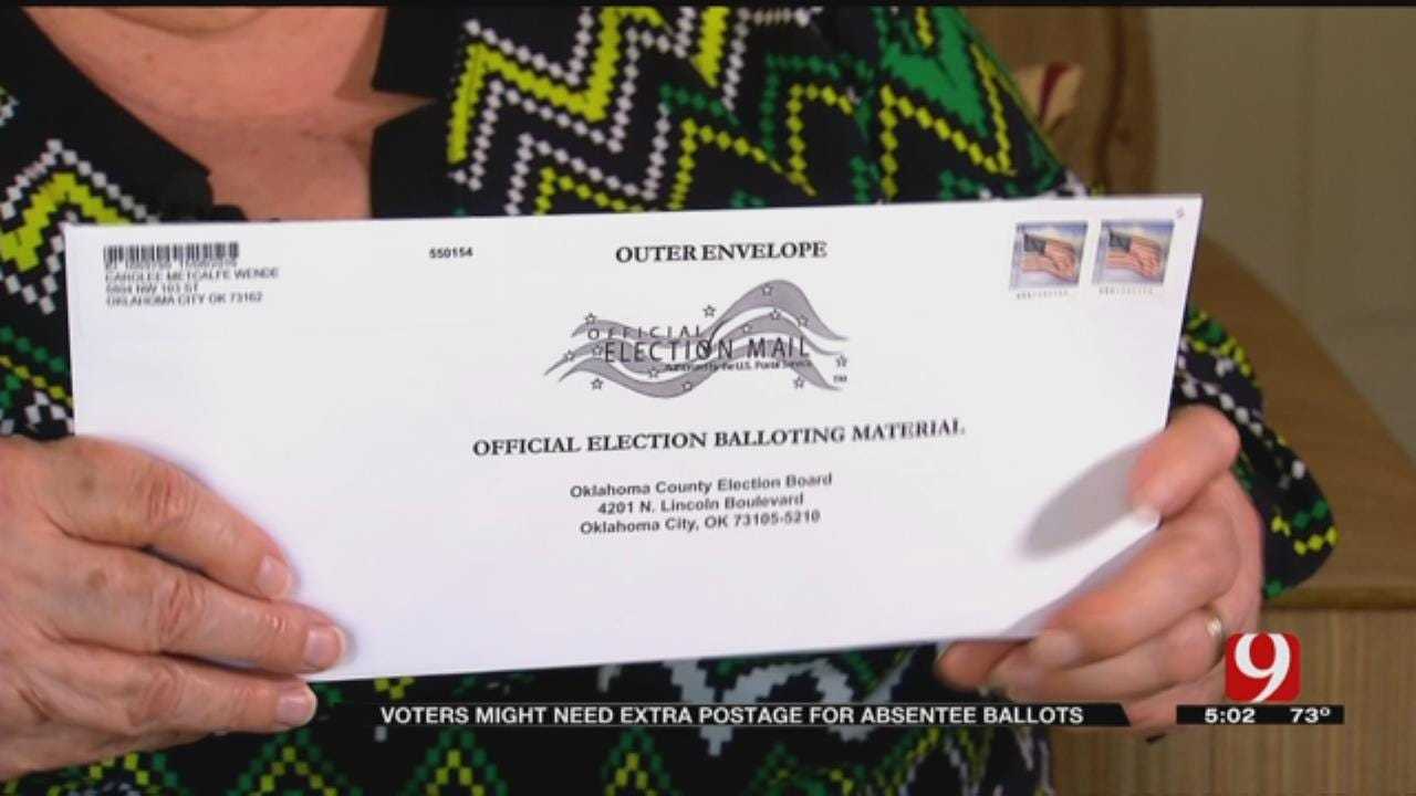 Absentee Ballots Come With Added Cost To Oklahoma Voters