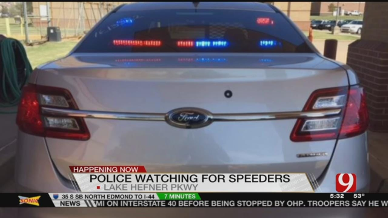 OKCPD Looks To Curb Speeders On Hefner Parkway