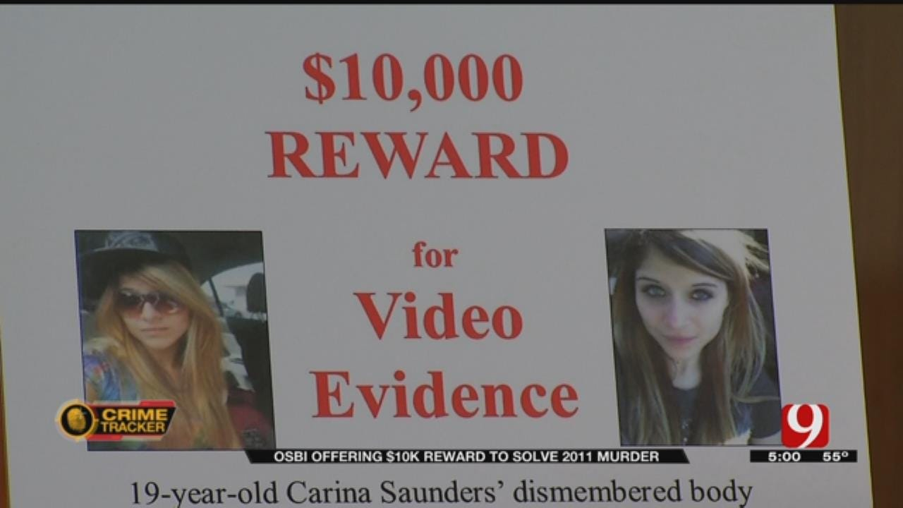 OSBI Offers $10K Reward For Possible Video Evidence In Carina Saunders Murder