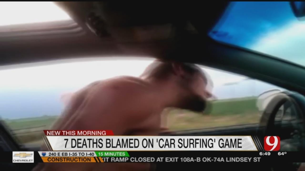 Authorities Warn Against Dangerous 'Car Surfing' Trend