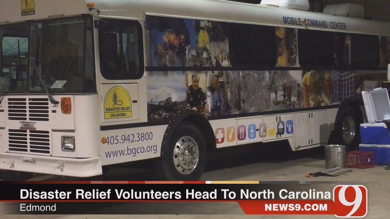 WEB EXTRA: Oklahomans Head To North Carolina To Help Hurricane Victims