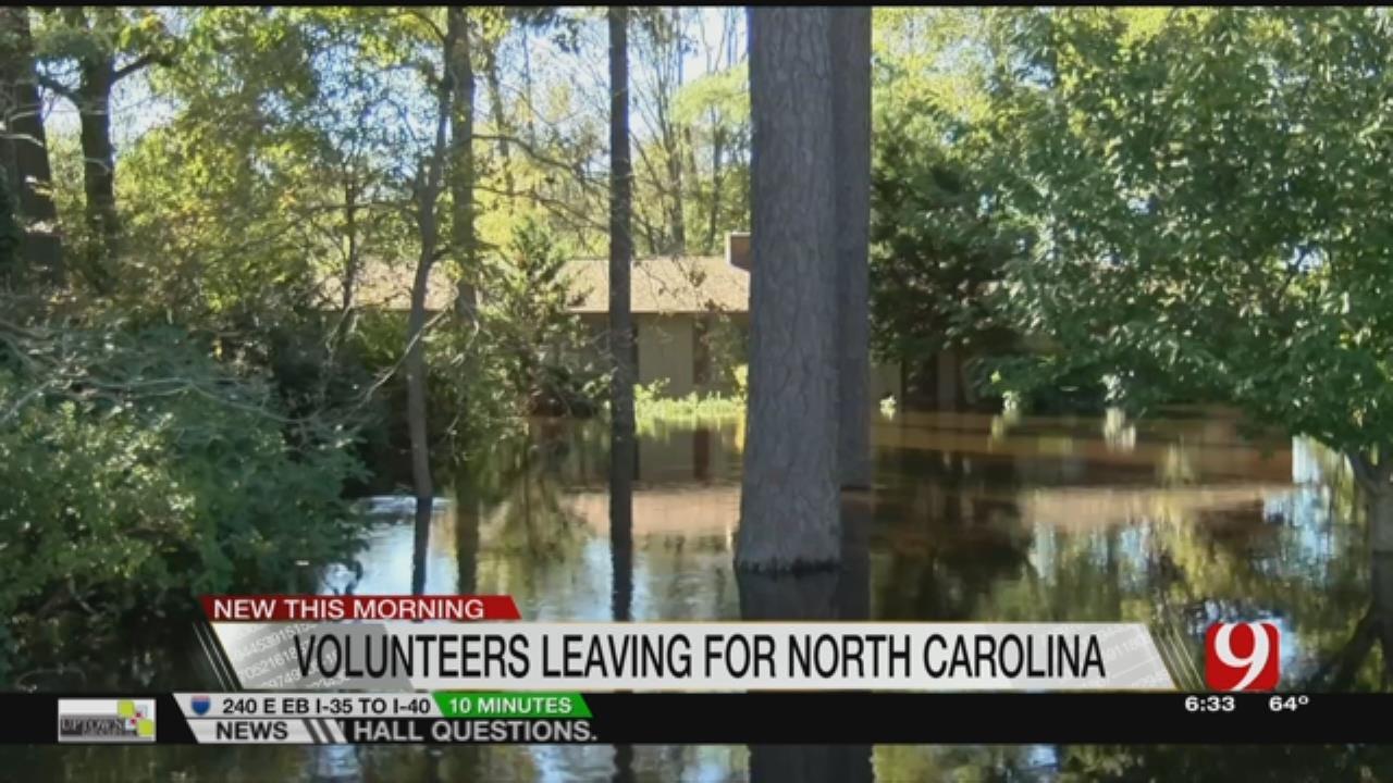 Oklahomans Head To North Carolina To Help Hurricane Victims