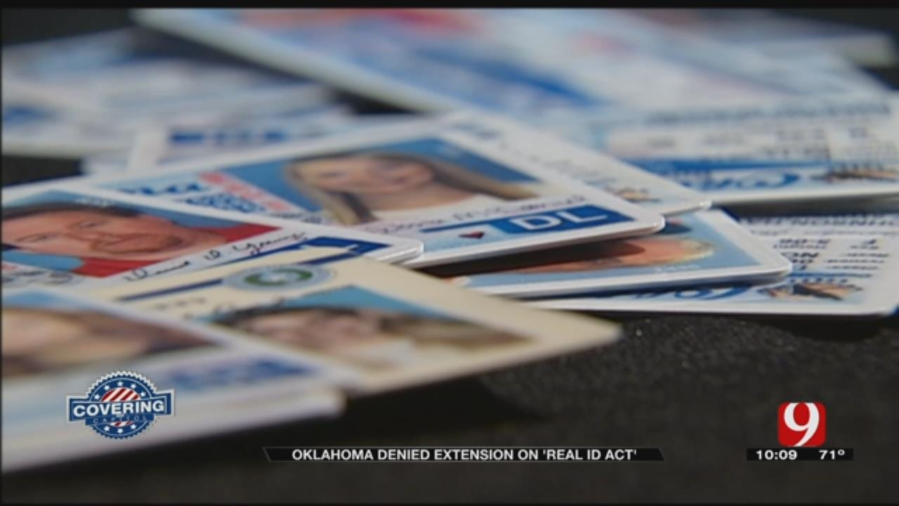 Oklahoma Denied Extension To Comply With REAL ID Act
