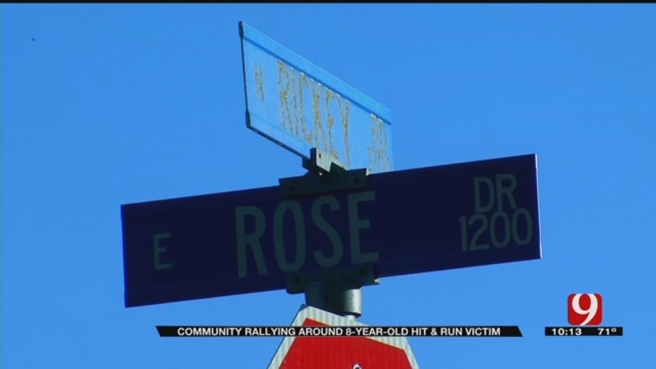 Community Rallies Around 8-Year-Old Hit-And-Run Victim