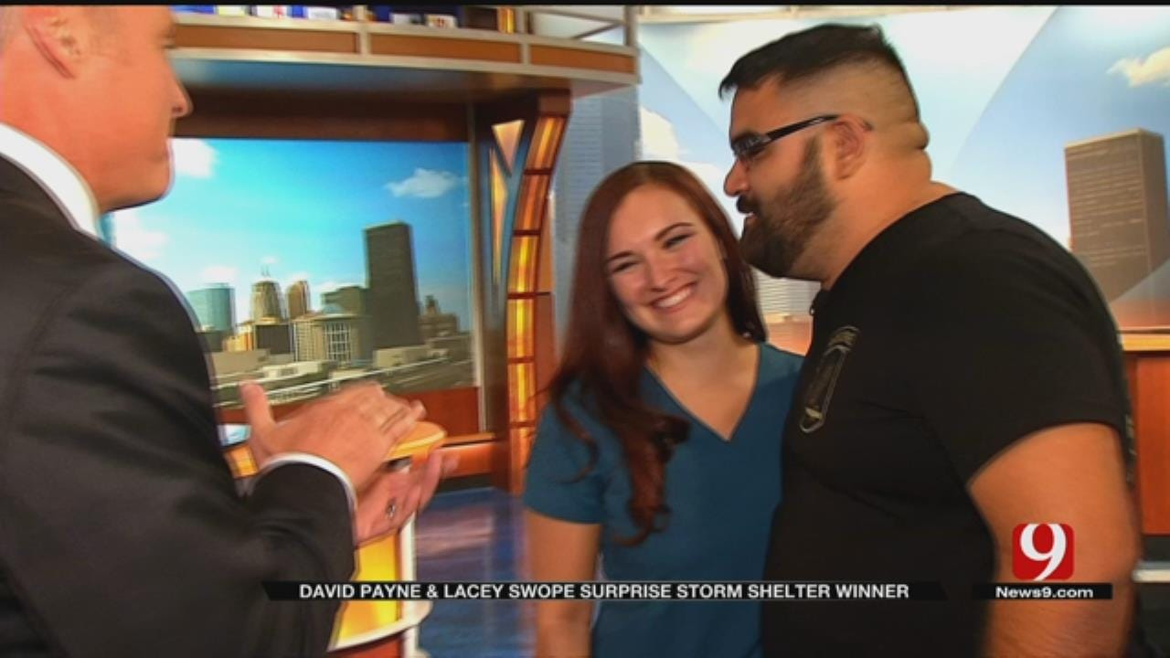 News 9 And FlatSafe Surprise Viewer With A Storm Shelter