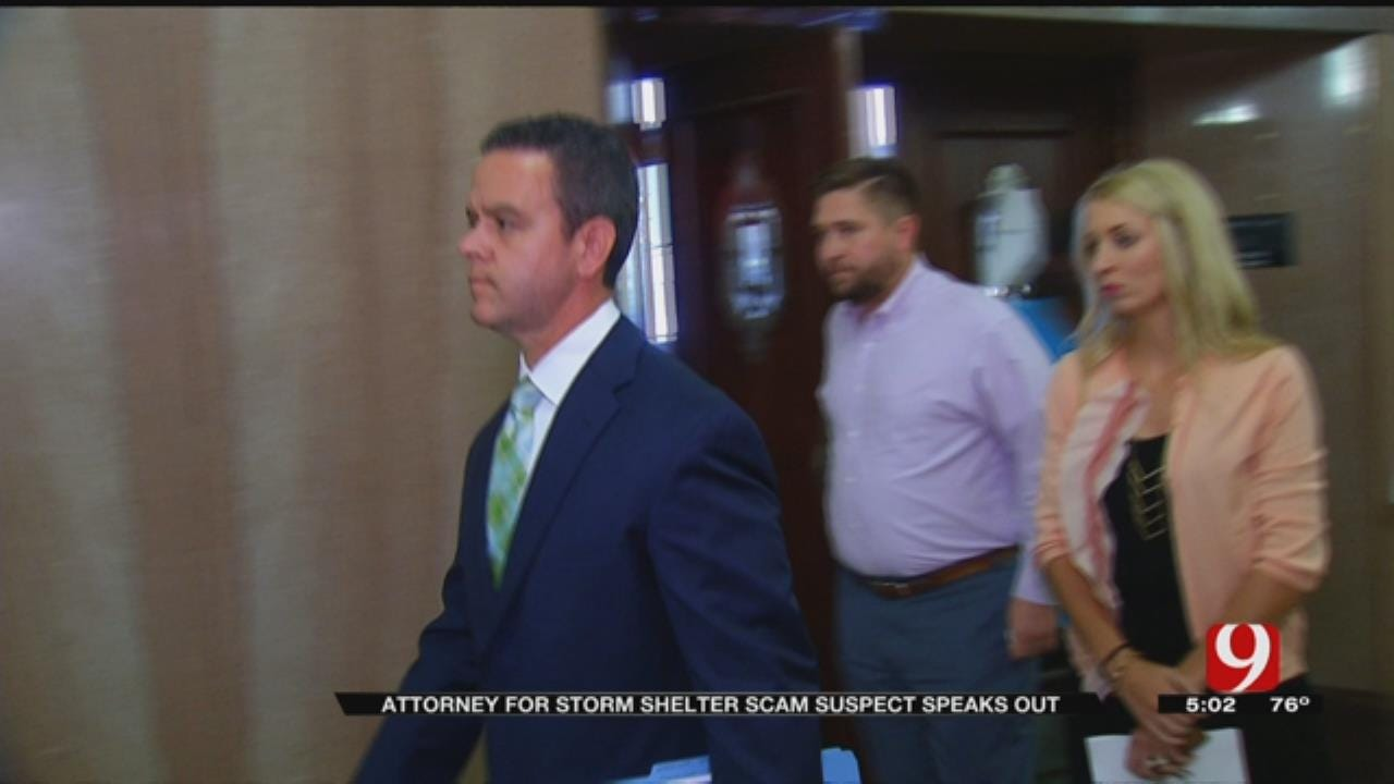 Attorney For OKC Storm Shelter Scam Suspect Speaks Out