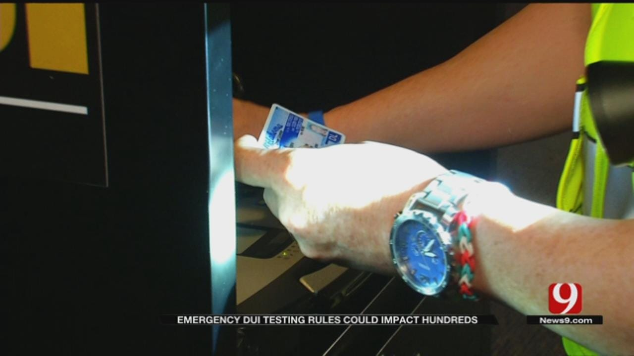New DUI Test Rules Could Affect Hundreds