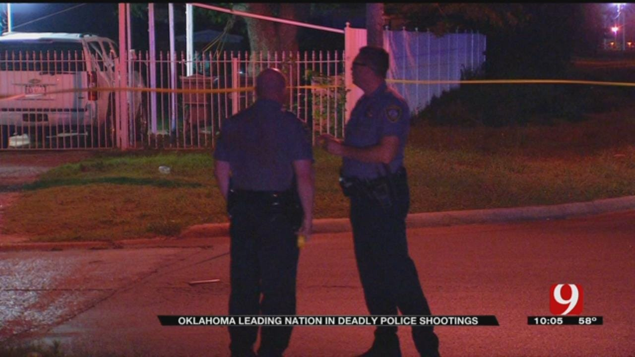 Oklahoma Leading Nation In Deadly Police Shootings